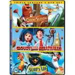 Cloudy With a Chance of Meatballs / Open Season / Surf's Up - £2 Morrisons