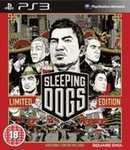 Sleeping Dogs Limited Edition Pre-Order PS3/Xbox 360 £30.39 @ Sainsburys Entertainment