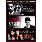 Scarface / Casino / American Gangster DVD £2.40 Used Zoverstocks Amazon