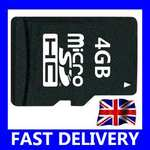 New 4GB Micro SD Card £2.48 @ ebay/fonefunshop