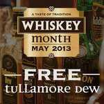 Free shot of Tullamore Dew whiskey at O'Neil's with voucher.