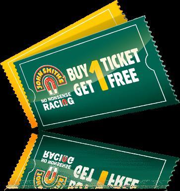 BOGOF - Race Course tickets through John Smith's