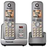 Sainsburys - Panasonic KX-TG 6722 Twin Cordless Phone £24.99 (Save £35.00)