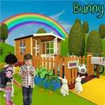 Mad Dash Bunny Wooden Playhouse Collection from £79.90 delivered @ gardenbuildingsdirect