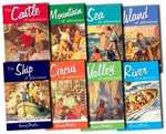 Enid Blyton 8 Adventure Series Books Delivered for only 9.99 @ Bangzo Books