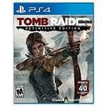 Tomb Raider Definitive Edition ps4/xb1 £25 using code @ tesco direct