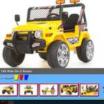£109.00 12v two seater ride on Jeep @ rideoncars
