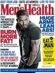 Men's Health Magazine 12 month subscription with free Colgate Omron toothbrush £22