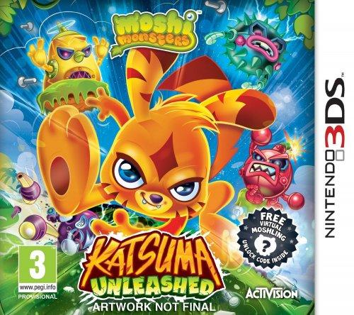 Moshi Monsters Katsuma Unleashed 3DS £6.99 + delivery  @ amazon