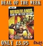 Borderlands Game of the Year PC only £5.50 only 4GamersUK.com