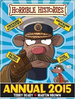 Horrible Histories Annual 2015 £2 @ Amazon