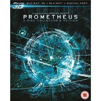 Prometheus Blu Ray 3D £5.99 using £5 off code @ Rakuten / Link Entertainment