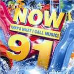 NOW 91 Download - £7.99 - Tunetribe / £9.99 Sainsburys inc 500 Nectar points