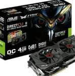 ASUS GTX 980 4GB GDDR5 £379.99 @ Amazon