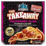Large Chicago Town takeaway pizzas 4 for £10 instore at Farmfoods
