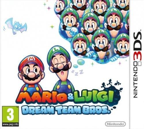 Mario and Luigi: Dream Team Bros. (Nintendo 3DS) £12 delivered @  Amazon (Lightning deal)