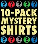A Random T-Shirt 10-Pack - only $59.21 (about £42.00)  - delivered from 6dollarshirts.com