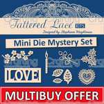 TATTERED LACE Mystery Mini Die Kit (20 mini dies) £12 delivered @ Crafting uk