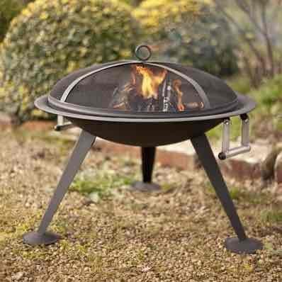 La Hacienda Oregon Black Steel Firepit was £74.98 now £14.95 inc delivery using code @ BBQbarbecues