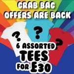 grab bag of t shirts from chicks rule £27
