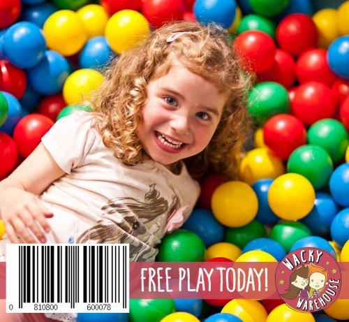 FREE PLAY - Wacky Warehouse Today - 23/08/16
