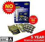SmartWater forensic home security package with 5 year warranty incl delivery £25 (with code)