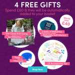 4 free gifts worth £40 + 25% off your order when you spend over £60 @ Love knitting