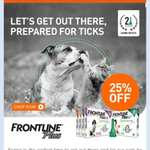 frontline plus 25% off at petmeds
