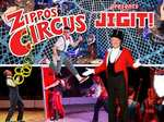 Zippos Circus half price tickets starting £9 - various locations @ Ents24.com