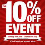 Dulux paints 10% off event