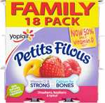 Petits Filous Fromage Frais - Strawberry Raspberry & Apricot (Family Pack) (18 x 47g) was £3.00 now £2.00 @ Tesco