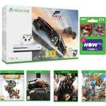 Xbox One S Forza Horizon 3 1TB Bundle x09RARE Replay x09Forza Motorsport 5 Day One Edition x09Ryse: Son of Rome x09Sunset Overdrive x09NOW TV Movies 2 Month Sky Cinema Pass