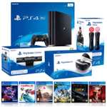 PlayStation VR MEGA BUNDLE with PS4 PRO 1TB, VR Camera, VR Move Controller and 6 Games @ Costco online (FREE delivery) for £859.99
