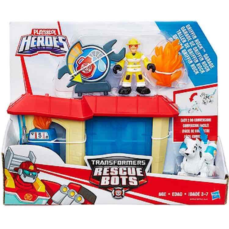 transformers rescue bots - griffin rock garage £6.60 (+£3.99 del) @ The Entertainer