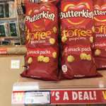 6 pack Butterkist Toffee Popcorn, 49p at poundstretcher.