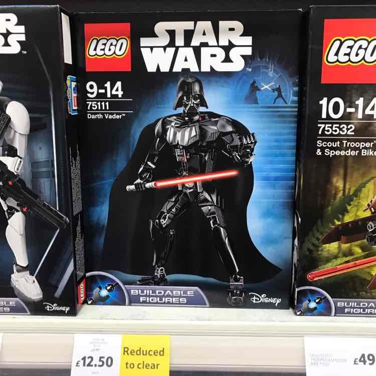 Lego Star Wars Darth Vader 75111 Constraction Figure - £12.50 instore at Tesco romford