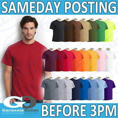 Gildan Ultra T-shirts 205grams - £2.44 Delivered Ebay (garments_online_uk) only until 3pm!