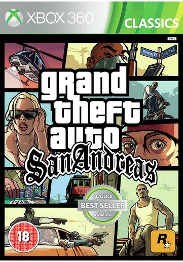 GTA San Andreas 360/PS3 £7.99 @ Argos. (£10 Voucher Trade / £7 Cash at CEX)