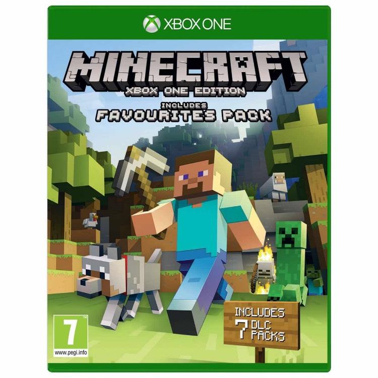 Minecraft Xbox One edition + Favourites packs £12.99 @ Argos