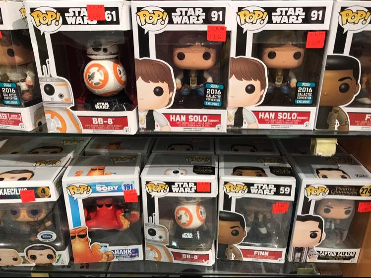 Star Wars / Finding Dory / PotC POP! Figures - £3.99 Disney Store
