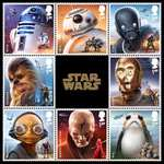 Pre-Order The New Star Wars Stamp collections / Envelope and more - Items start from 30p @ Royal Mail (£1.45 P&P)