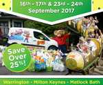 Gulliver's World Theme Park Tickets only £12.50 per person! 16th, 17th, 23rd and 24th September when you bring along a food item to donate