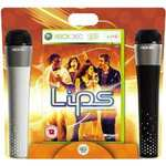 Lips With Microphones For Xbox 360 - £22.02 Delivered @ Amazon Sold By Click For Games